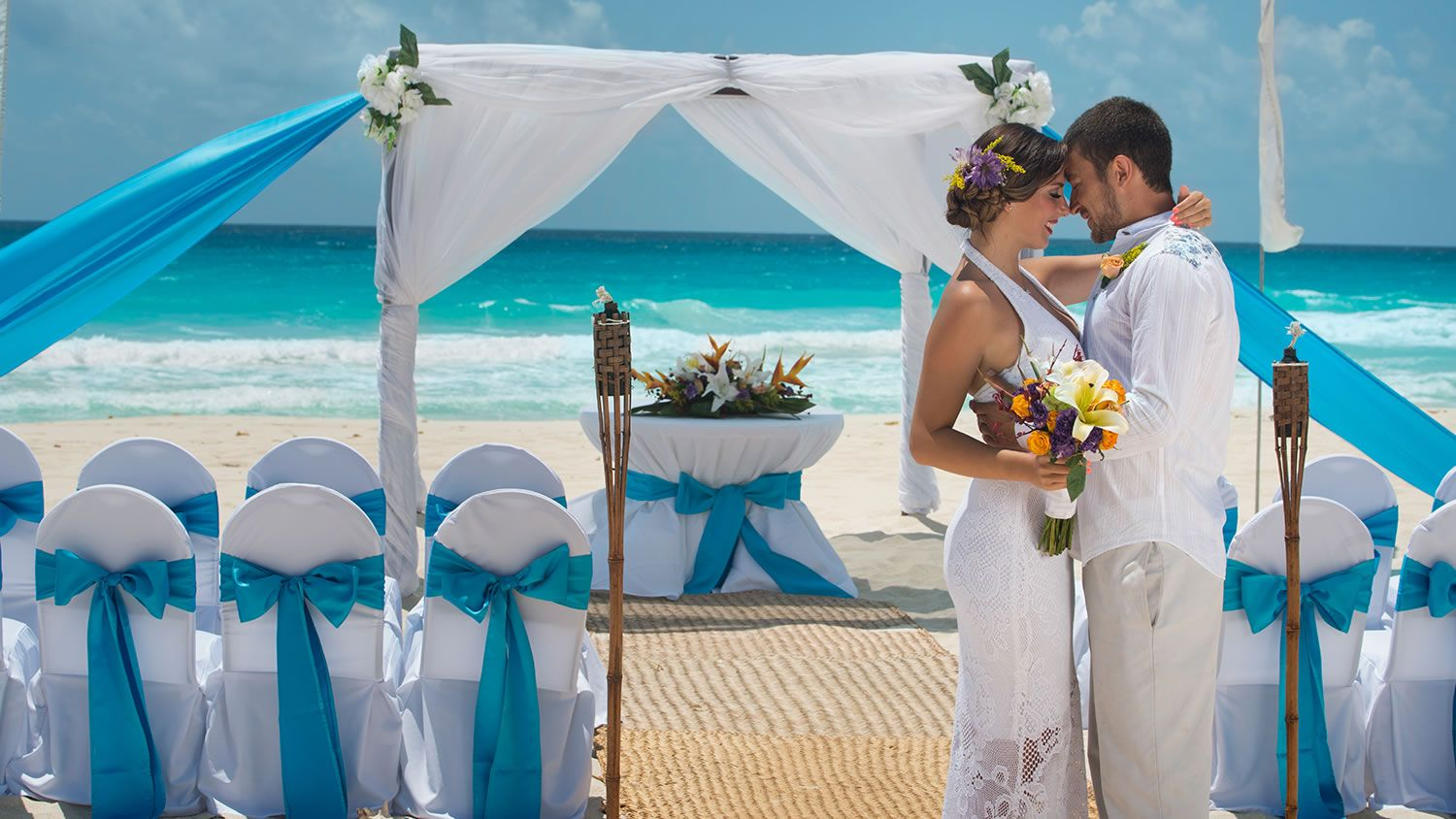 bodas en la playa de cancun