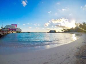 Hermoso lugar Playa Norte Isla Mujeres