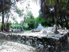 Zona arqueologica el Meco Cancun Puerto juarez