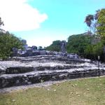 Zona arqueologica el Meco de Cancun