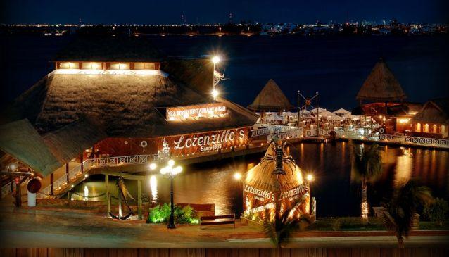 Lorenzillo´s Cancún restaurante romantico