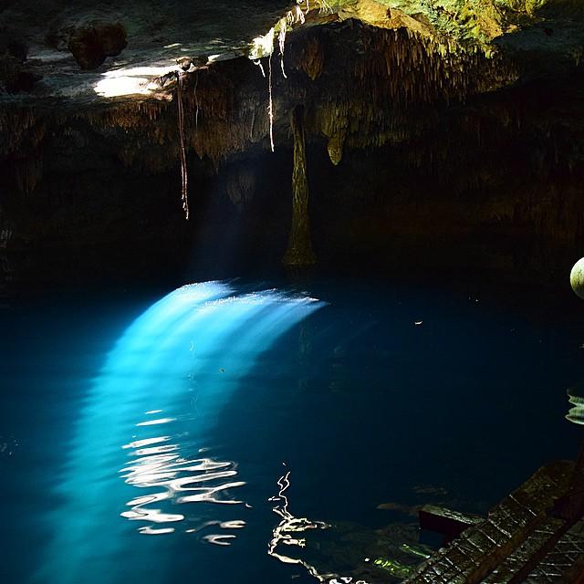kin ha el mejor cenote de Puerto Morelos
