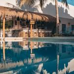 hostel en cancun con alberca Chiibal Hostel