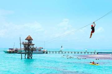 parque garrafon cancun tour