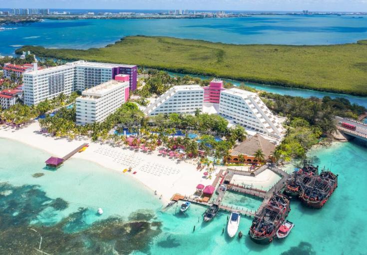 Grand Oasis Palm hotel en cancun para niños