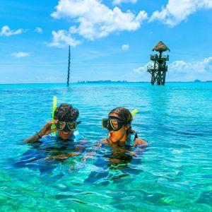 snorkel parque garrafon isla mujeres