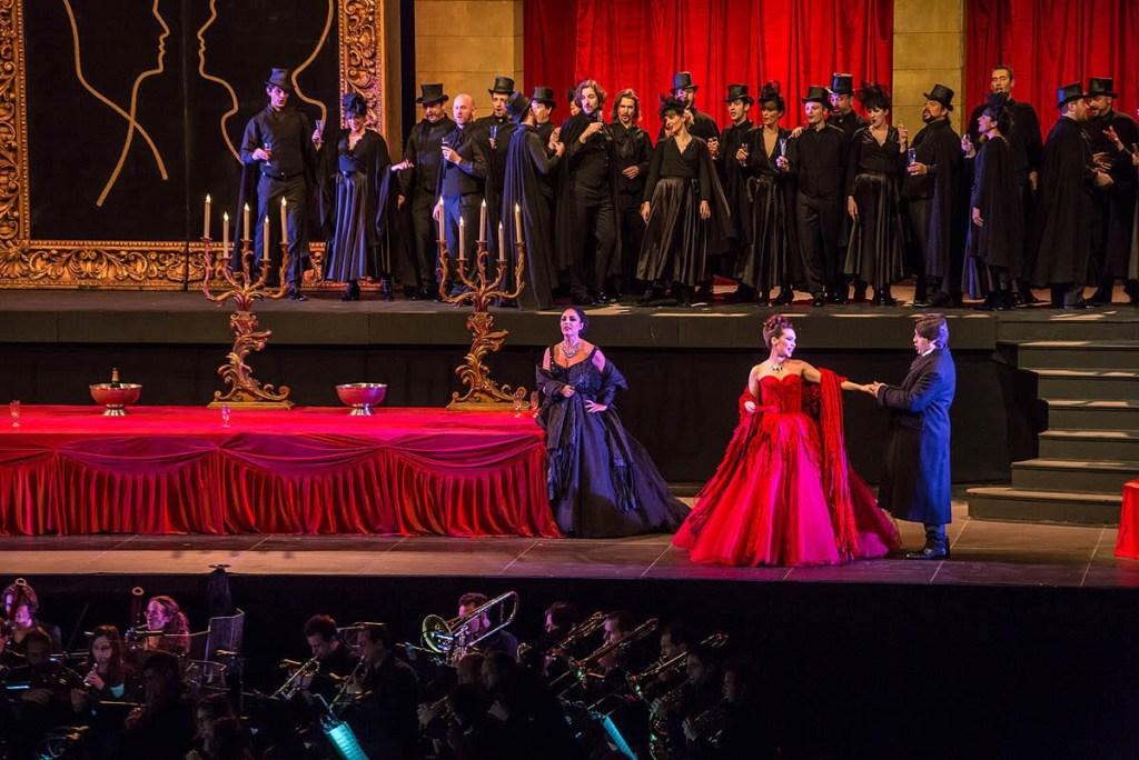 Violetta, Traviata, Verdi. Vendespace 2015. Avec Patricia Fernandez et Yuri Kissin