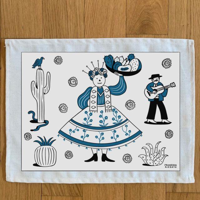Tovaglietta di cotone/ Messico by Francesca Rizzato