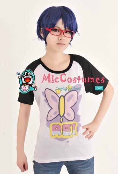 free! iwatobi swim club rei ryugazaki cosplay t-shirt