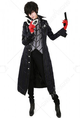 Persona 5 Protagonist Phantom Thief Cosplay Costume