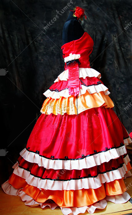Code Geass Kallen Stadtfeld Red Cosplay Dress For Sale
