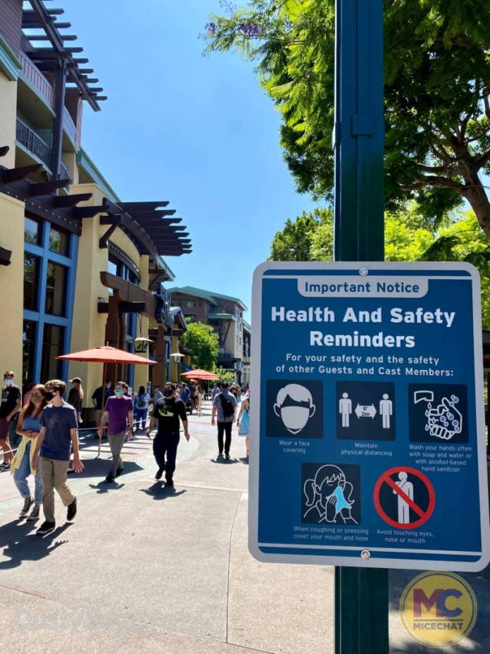 , Disneyland Code Red: Orange County California Restrictions Loosened