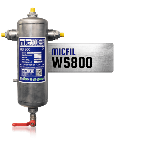 Micfil WS800 waterseparator