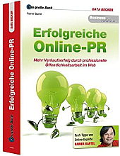 Erfolgreiche Online PR Buch