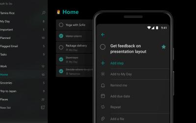 Standortbasierte Erinnerungen mit Microsoft To Do auf iOS