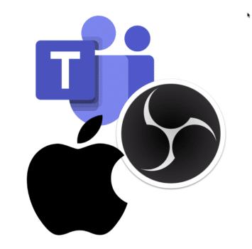 OBS Virtual Webcam in Teams auf dem Mac benutzen