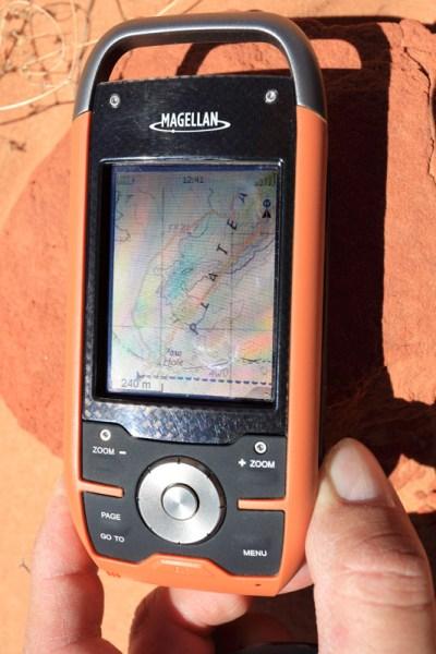GPS Magellan Triton 1500
