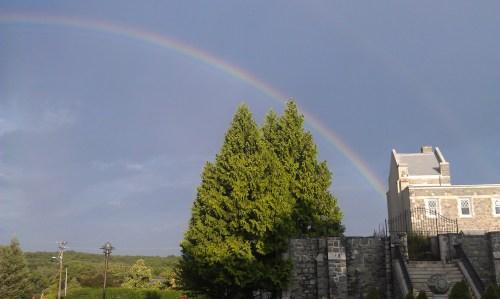 Cumberland Monastery/Library Rainbow