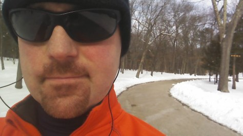 2/8/14 5 mile run at Lincoln Woods