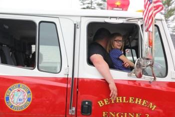 Bethlehem, NH Engine 2 | Franconia 4th of July Parade 2015 © 2015 Michael Webber IMG_3633