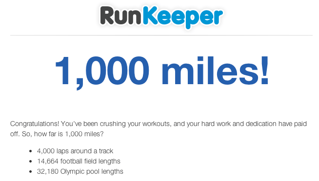 1,000 Miles, Journey Continues