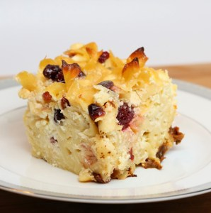Sweet-Noodle-Kugel-with-Cranberries-Golden-Raisins-2