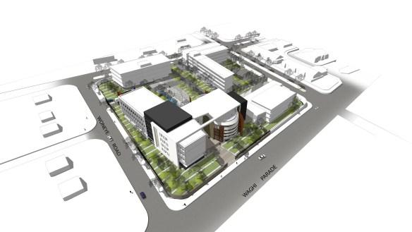 mount hagen city masterplan