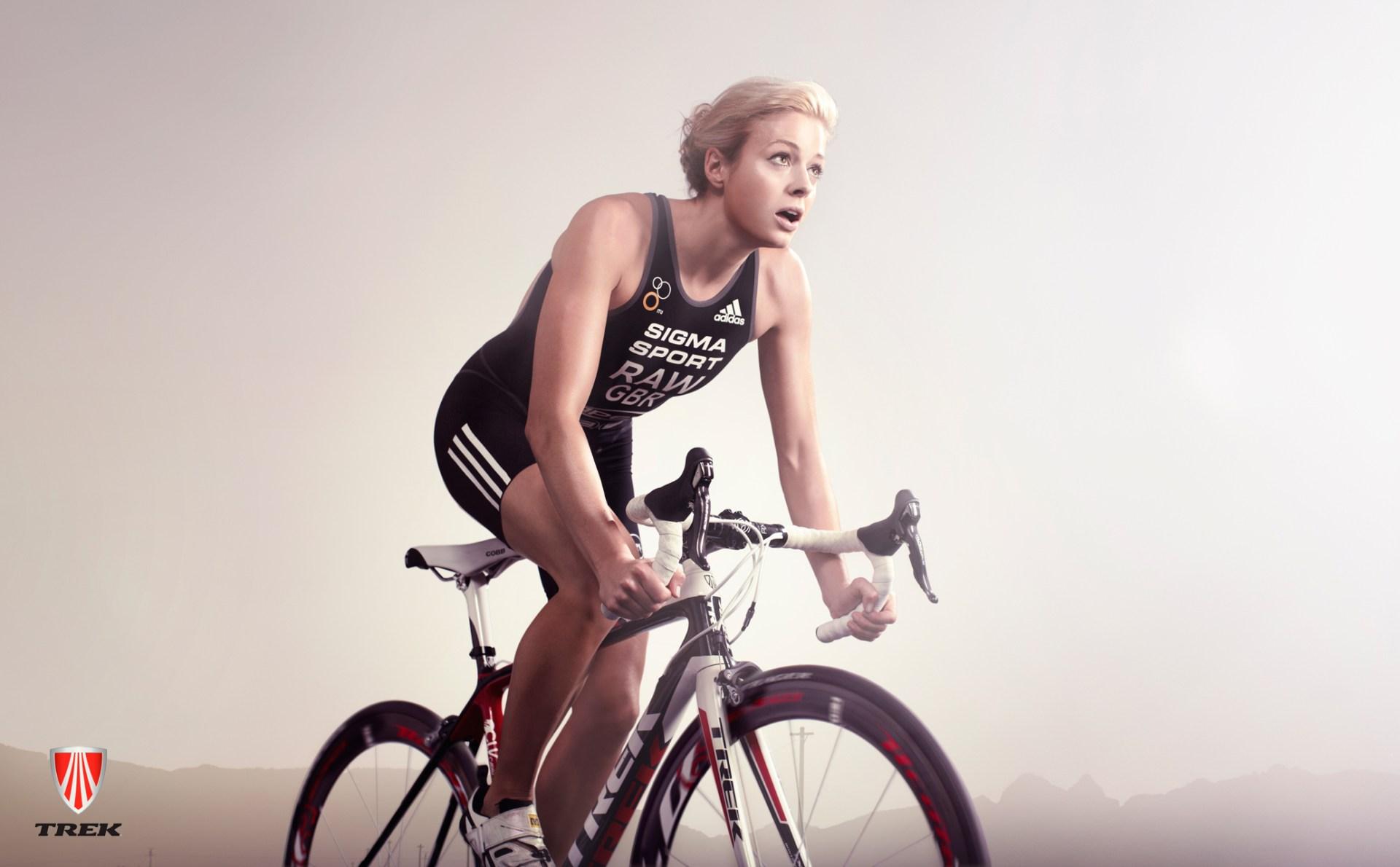 Vanessa Raw, Triathlete ad campaign