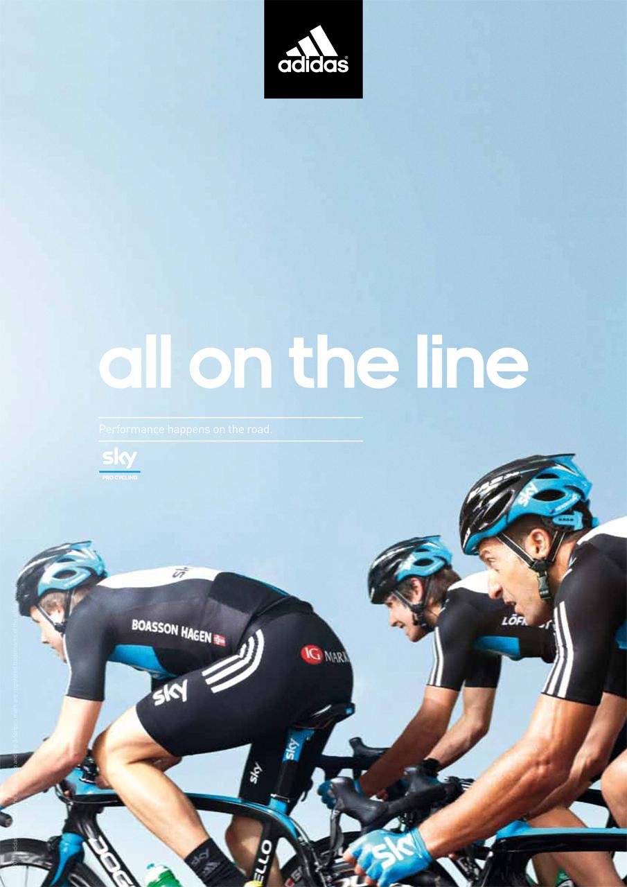 Team Sky Adidas ad campaign