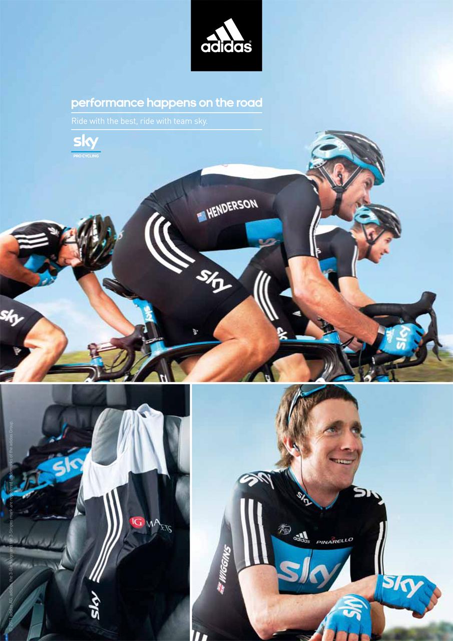 Bradley Wiggins Adidas ad campaign