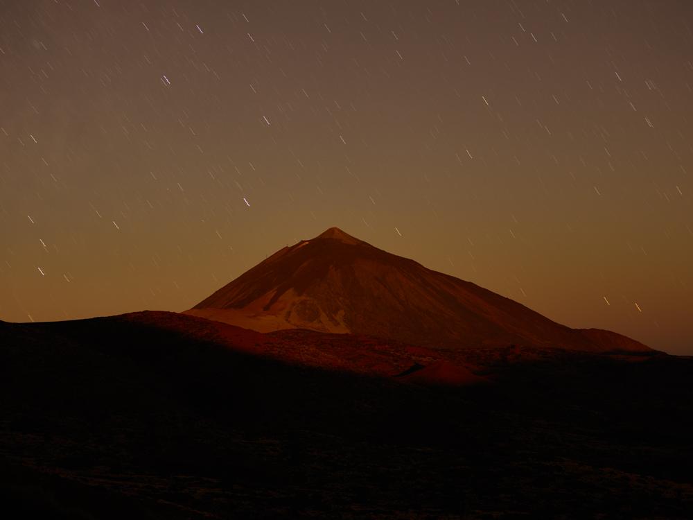 Mt Tiede climb, Tenerife, Canary Islands, Spain