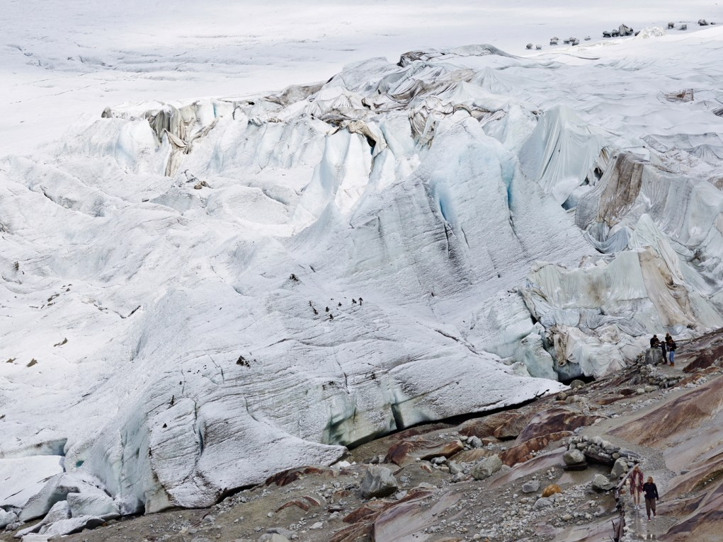 Furka Glass Rhone Glacier