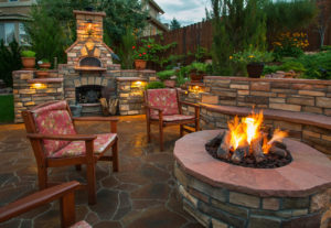 Types of Outdoor Fire Features