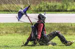 Sliding In For A Landing