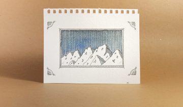 Original artwork | Mountain scenery