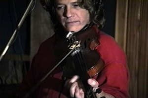 Champ Hood taught himself the fiddle when he was in his 20s.
