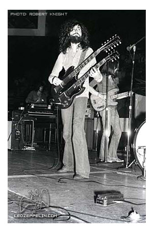 Jimmy Page Honolulu 1971.
