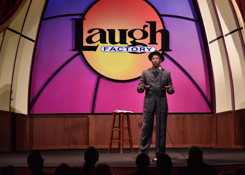 Laugh Factory 2017 Winner