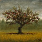 Apple Tree, 2013, oil on linen, 10x10in (25x25cm)