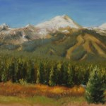 Autumn in Breckenridge, 2014, oil on panel, 11x14in (28x35.5cm)
