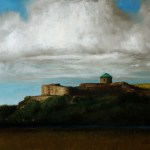 Bohus Fortress, 2013, oil on linen, 16x12in (40x30cm)