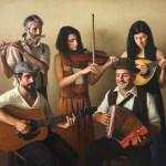 Folk Band, 2013, oil on linen, 48x60in (122x152cm)