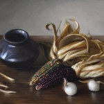 Maize, 2015, oil on panel, 14x18in (35.5x46cm)