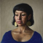 Pueblo Woman, 2014, oil on linen, 20x16in (50x40cm)