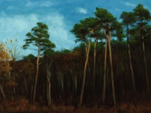 Reaching for the Light, 2013, oil on linen, 16x12in (40x30cm)
