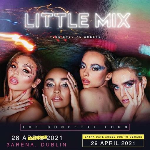 Little mix 3 arena concert bus
