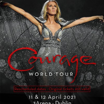 Celine Dion 3 arena concert bus