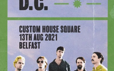 Fontaines DC, CHSQ Belfast. 13th August 2021