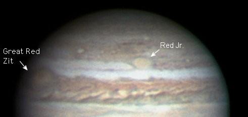 Jupiter's Acne