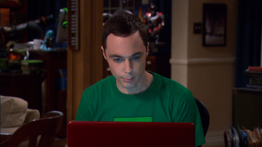 Sheldons Laptop
